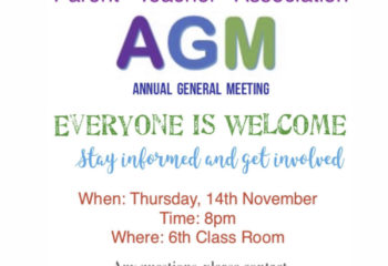 pta agm flyer photo